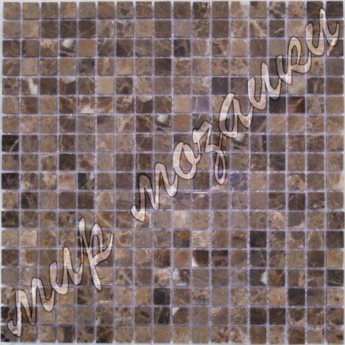 Мозаика из камня имперадор дарк DS012 15