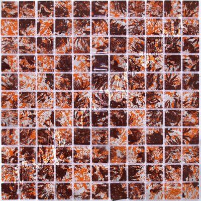 Абстрактная мозаика из стекла D8