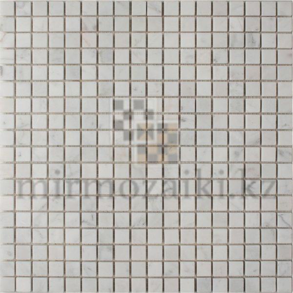 Белая мозаика из камня DD010 15