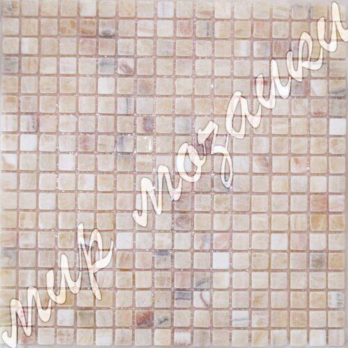 Мозаика из камня оникс DD040 15