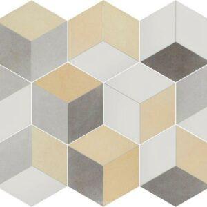 3D шестигранная плитка соты