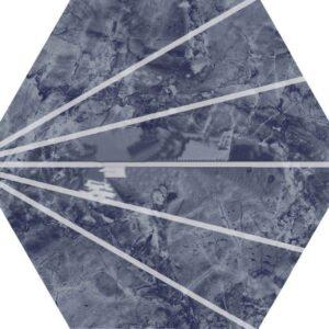 Шестигранная плитка соты под мрамор