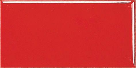 Красная плитка кабанчик с фаской - 100*200