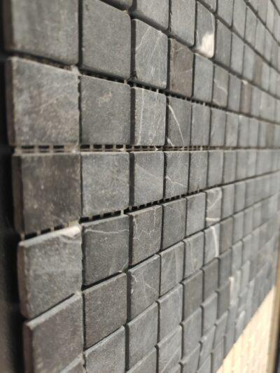 Черная мозаика из камня DD009 20