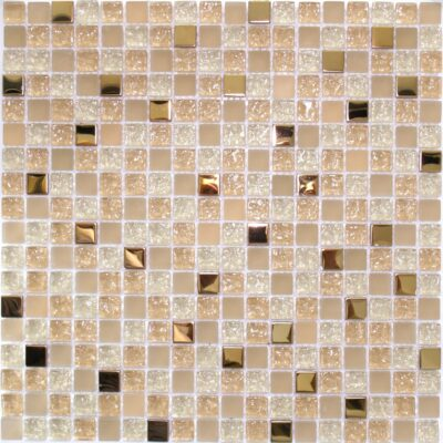 Стеклянная мозаика с золотом 06 15 мозаики из стекла и металла