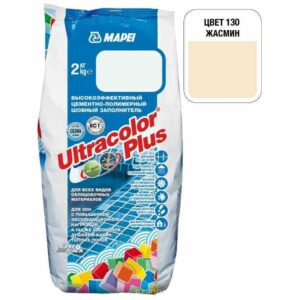 "Жасмин затирка Mapei ""Ultracolor Plus"" (130)"