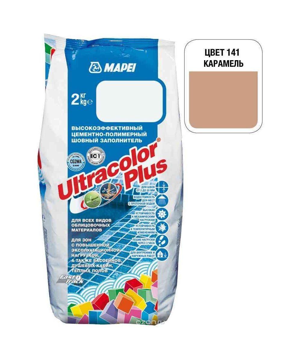 "Карамельная затирка Mapei ""Ultracolor Plus"" (141)"