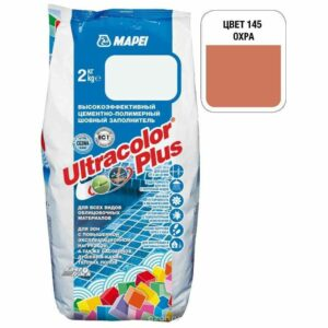 "Охра затирка Mapei ""Ultracolor Plus"" (145)"