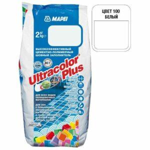"Белая затирка Mapei ""Ultracolor Plus"" (100)"
