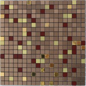 Бронзовая самоклейка мозаика RMF503
