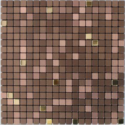 Бронзовая самоклейка мозаика RMF503Мозаика из не ржавеющей стали