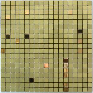 Золотая самоклеящаяся мозаика RMF506Мозаика из не ржавеющей стали