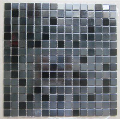 Черная мозаика из смальты F831