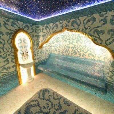 Mозаика в Хамам из смальты E101