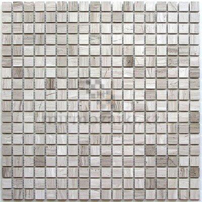 Серая мозаика из натурального камня ST300 15