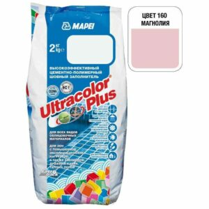"Магнолия затирка Mapei ""Ultracolor Plus"" (160)"