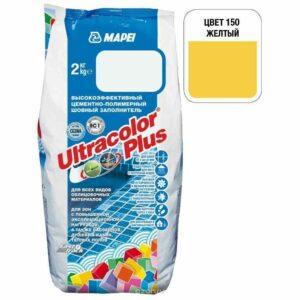 "Желтая затирка Mapei ""Ultracolor Plus"" (150)"
