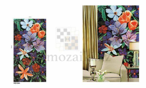 Художественное панно из мозаики Sicis colorful flower