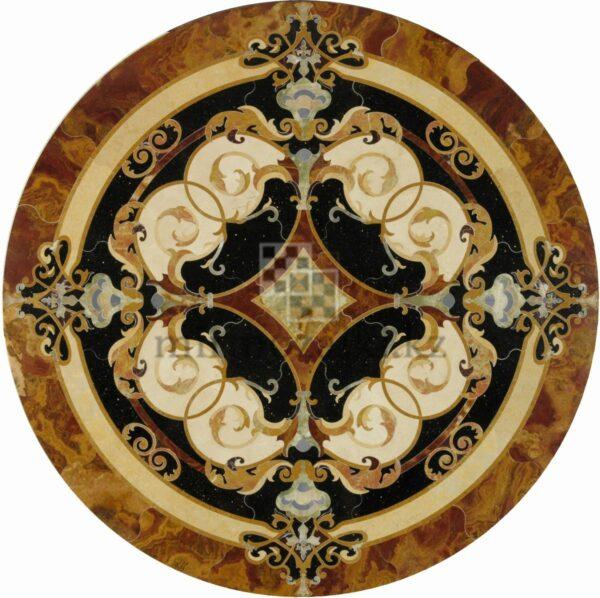 Круглое панно из мрамора/ керамогранита PK3