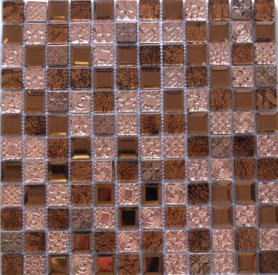 Стеклянная мозаика бронза JB 2313