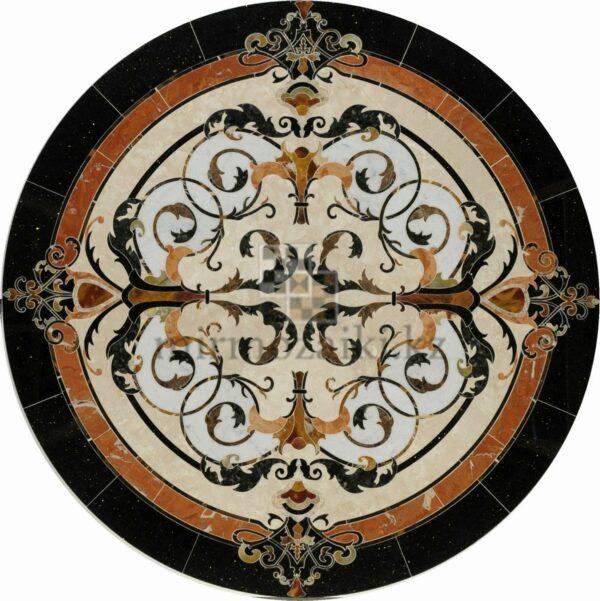 Круглое панно из мрамора/ керамогранита PK10