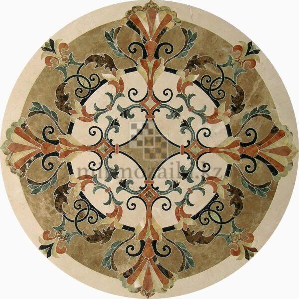 Круглое панно из керамогранита PK4