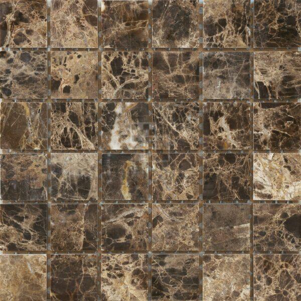 Мозаика из камня имперадор дарк DS012 50