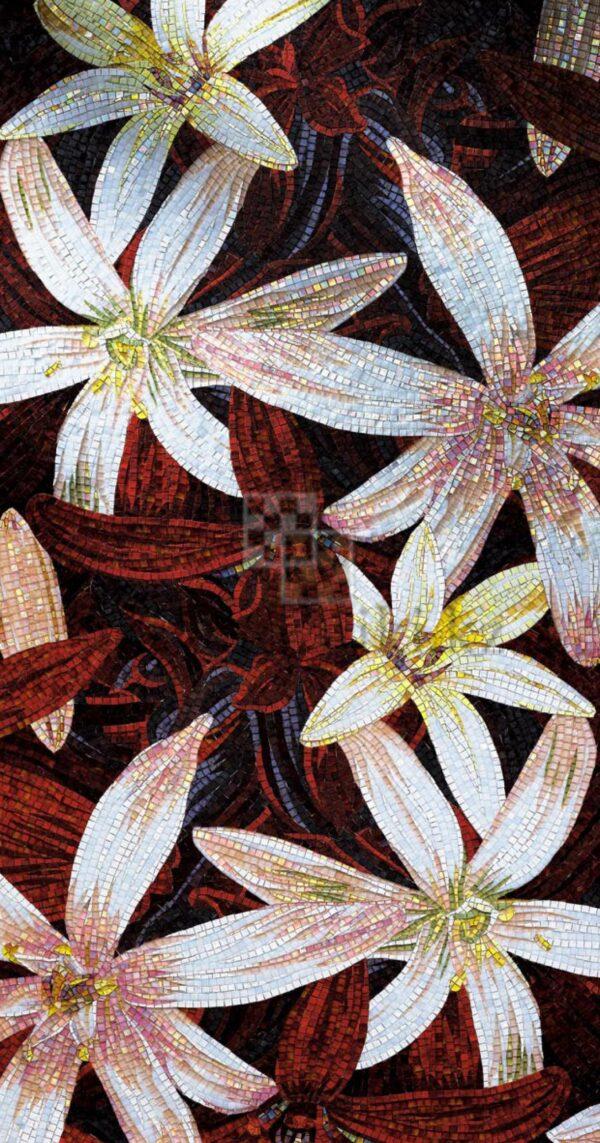 Художественное панно из мозаики Sicis flowers