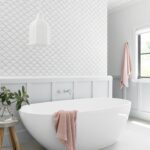 Плитка для ванной в интерьере