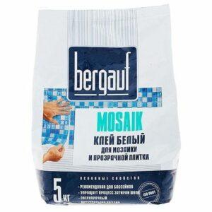 Клей для мозаики и плитки Bergauf Mirmozaiki.Kz
