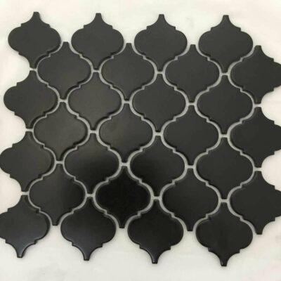 Черная плитка мозаика арабеска Arabeska Mirmozaiki.Kz